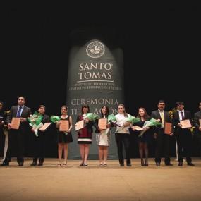 Titulación Santo Tomás Talca 2014