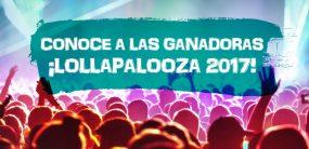 Ganadoras Lollapalooza 2017