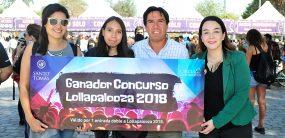 Ganadores Concurso Egresados Lollapalooza