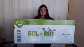 """Premiación Concurso """"Viaja a Río de Janeiro con Santo Tomás"""""""